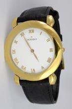 Movado Gold Tone Watch
