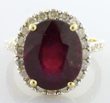 Ruby & Diamond Ring Appraised Value: $3,485