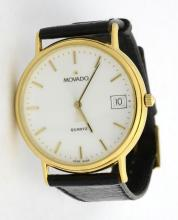 Movado Wristwatch *Heavily used and with case*