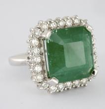 Emerald & Diamond Ring Appraised Value: $32,630