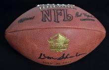Don Shula Signed Football