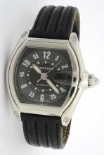 Cartier Roadster Mens Watch *Leather strap is worn*