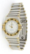 Omega Constellation Two Tone Watch