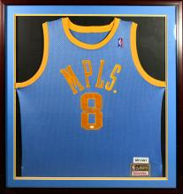 Kobe Bryant Minneapolis Signed Jersey