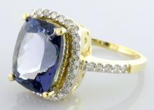 Tanzanite & Diamond Ring Appraised Value: $13,570