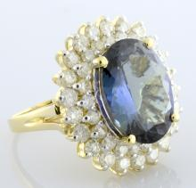 Tanzanite & Diamond Ring Appraised Value: $14,515