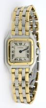 Cartier Panthere Two-Tone 3 Row Watch