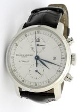 Baume & Mercier Chrono Wristwatch with Box & Papers