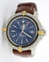 Breitling Colt with Diamond Bezel Wristwatch