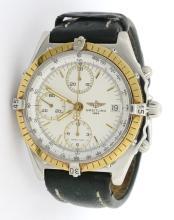 Breitling Two-Tone Chrono Wristwatch