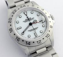 Rolex Explorer II White Dial Wristwatch with Papers