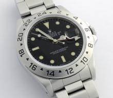 Rolex Explorer II Black Dial Wristwatch