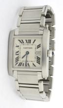 Cartier Tank Stainless Steel Watch