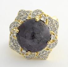 Ruby & Sapphire Ring
