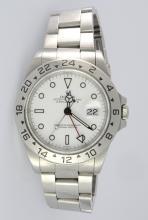 Rolex S/S Explorer II Wristwatch