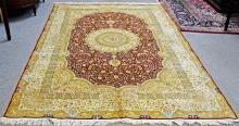 100% Pure Silk Oriental Rug (BRAND NEW)