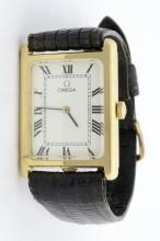 Omega 14K Mens Vintage Wristwatch