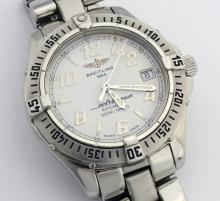 Breitling ColtOcean Stainless Steel Mens Watch *Signs of usage are visible*