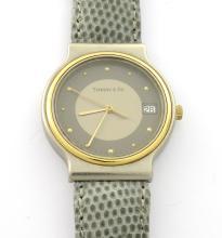 Tiffany & Co. Titanium Two Tone Watch