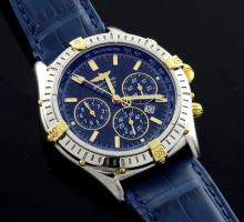 Breitling Two Tone Watch (Tiffany & Co. Strap)