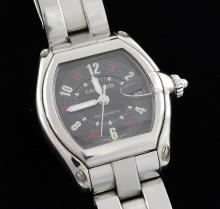 Cartier Roadster Stainless Steel Watch