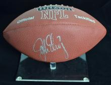 Wilson John Elway Signed Football