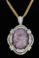 Star Ruby & Sapphire Pendant AV: $10,340