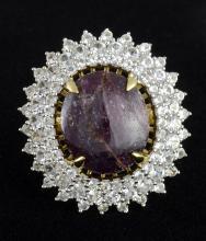 Star Ruby & Sapphire Ring AV: $3,550