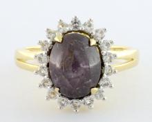 Star Ruby & Sapphire Ring AV: $800