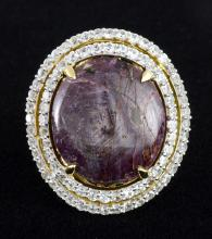 Star Ruby & Sapphire Ring AV: $3,770
