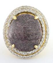 Star Ruby & Sapphire Ring AV: $3,750