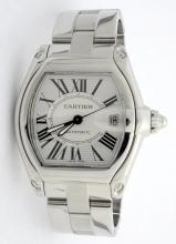 Cartier Roadster Stainless Steel Watch