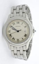 Cartier Stainless Steel Mens Wristwatch