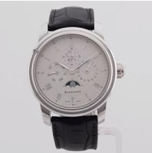 Blancpain Calendar Platinum Watch