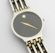 Movado Esperanza Two Tone Mens Watch