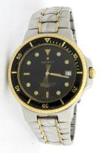 Movado Two Tone Mens Wristwatch