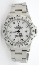 Rolex Explorer II White Dial Wristwatch