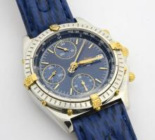 Breitling Two-Tone Chrono Wristwatch with Box & Papers