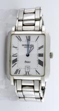 Men's Raymond Weila Stainless Steel Saxo Watch