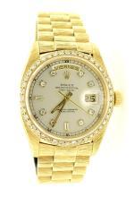 Rolex 18K Gold DayDate Watch AV: $24,330 AV: $24,330