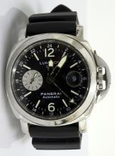 Panerai Luminor GMT Watch AV: $8,400