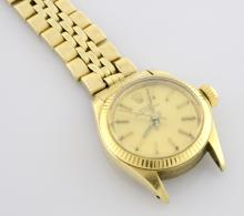 Rolex 14K Oyster Perpetual Wristwatch