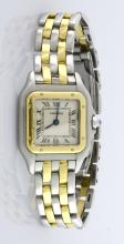 Ladies' Cartier Two Tone Panthere Watch