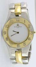 Baume & Mercier S/S & Gold Plated Watch