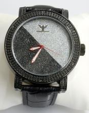 Diamond King BlackGray Wristwatch