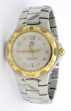 Tag Heuer Two-Tone Mens Wristwatch