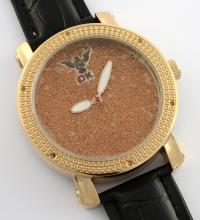 Diamond King Rose Gold Color Watch