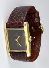 Cartier Must De Vintage Ladies Wristwatch