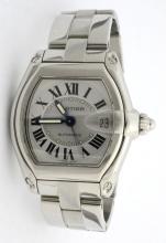Cartier Roadster Stainless Steel Wristwatch