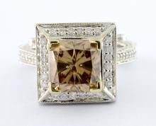 Diamond Ring (3.00 ct CENTER) (EGL USA CERTIFIED)